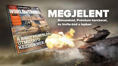 Ajándék kódok és érdekességek a GameStar World of Tanks 1.0 különszámában!