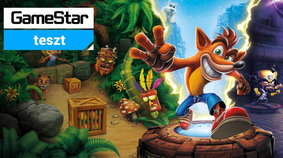 Crash Bandicoot N. Sane Trilogy teszt - platformer minden platformra bevezetőkép