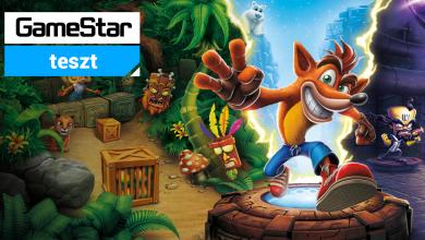 Crash Bandicoot N. Sane Trilogy teszt - platformer minden platformra