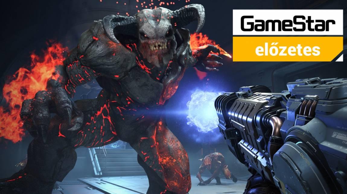 Doom Eternal előzetes - a pusztítás szimfóniája bevezetőkép
