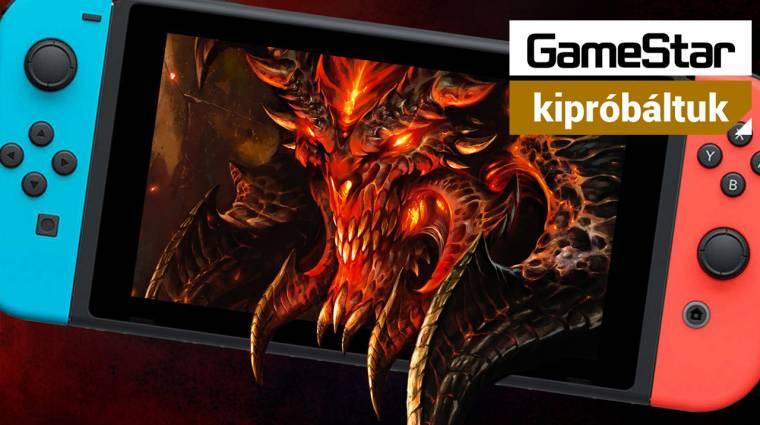 Az ördög mindenhová követ - kipróbáltuk a Diablo 3 Switch portját bevezetőkép