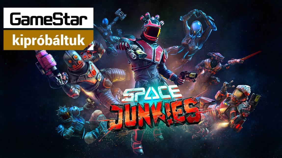 PvP VR címből még nem láttunk ennél jobbat - kipróbáltuk a Space Junkiest bevezetőkép