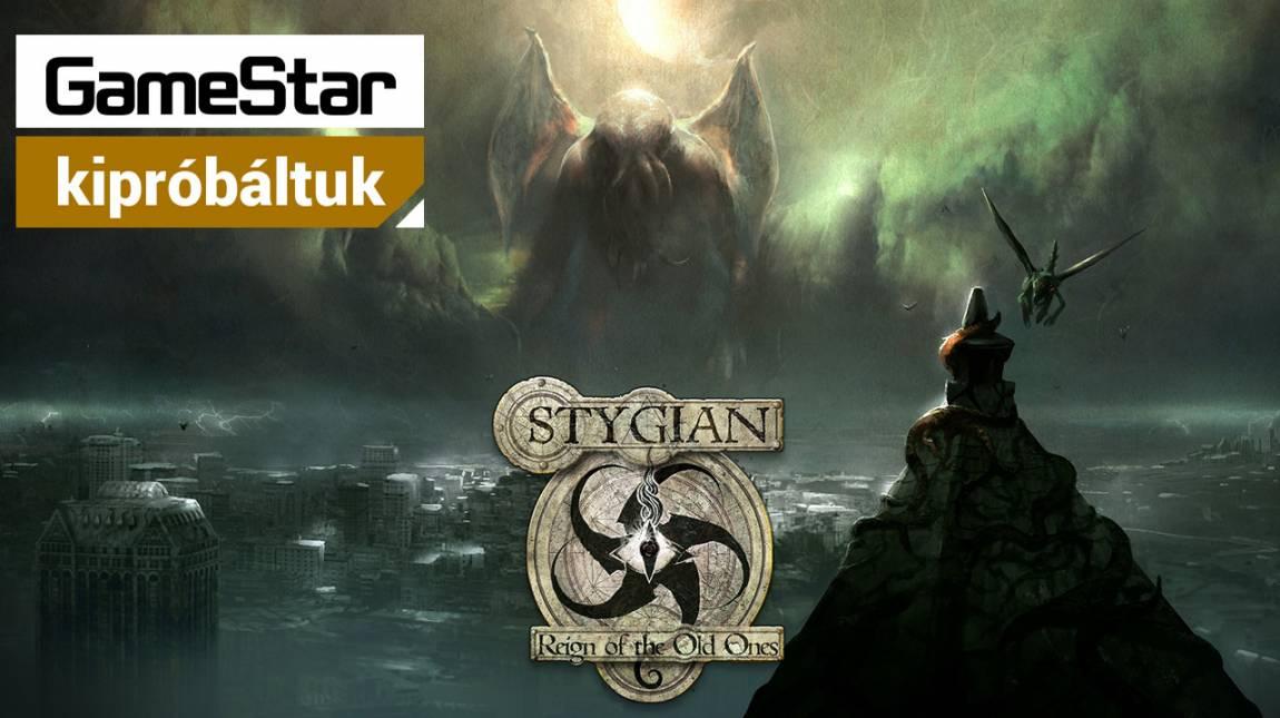 Cthulhu-mítosz klasszikus Fallout köntösben - kipróbáltuk a Stygian: Reign of the Old Onest bevezetőkép