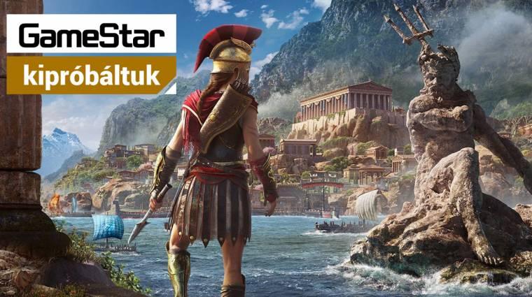 Országomat egy jó pajzsért - kipróbáltuk az Assassin's Creed Odyssey-t bevezetőkép