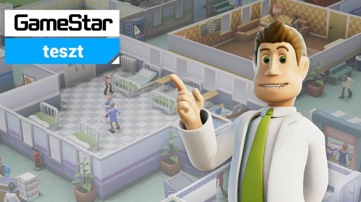 Two Point Hospital teszt - milyen kórház? bevezetőkép