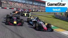 F1 2018 teszt - autók, amiket damilon húznak kép