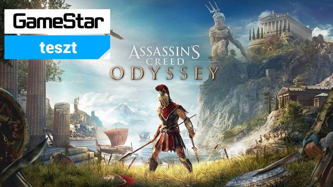 Assassin's Creed Odyssey teszt - hol buzuki hangja szól bevezetőkép