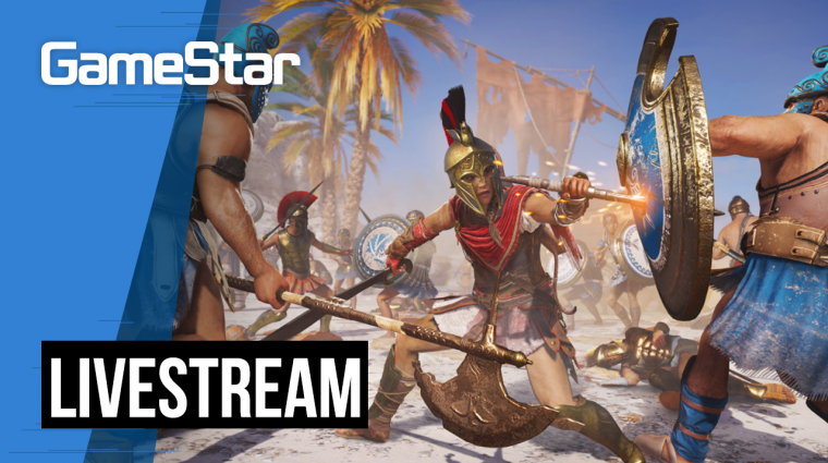 Kezd eldurvulni ez a játék - Assassin's Creed Odyssey Livestream #3 bevezetőkép