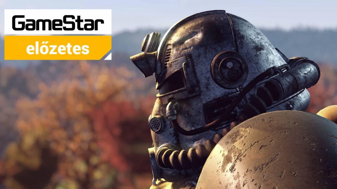 Fallout 76 előzetes - működhet az online Fallout? bevezetőkép