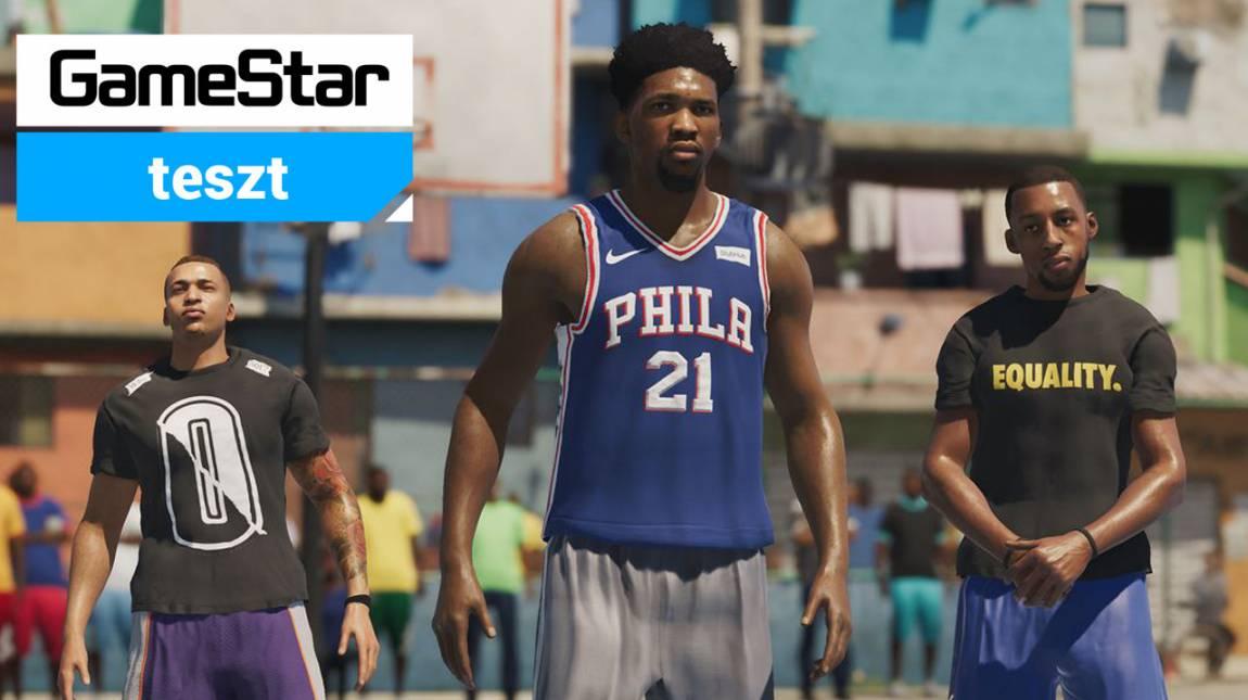 NBA Live 19 teszt - a parketta és a betonpálya ördögei bevezetőkép