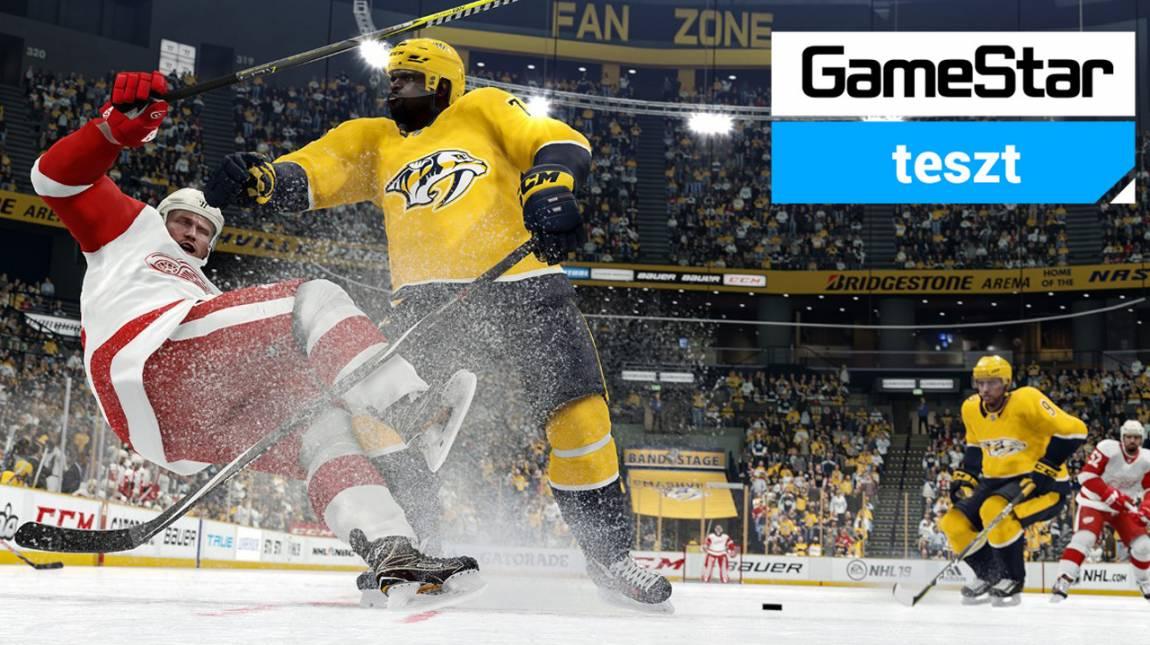 NHL 19 teszt - szabadtéri hoki bevezetőkép