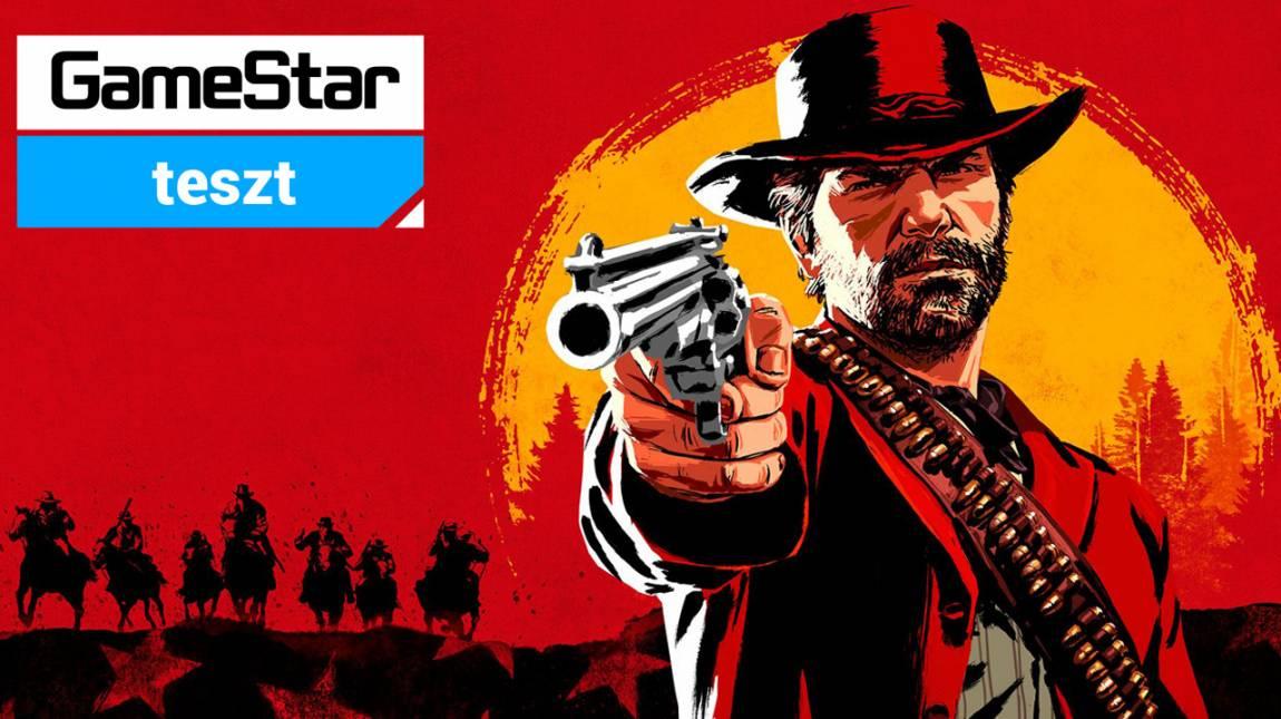 Red Dead Redemption 2 teszt - férfimóka whisky mellé bevezetőkép