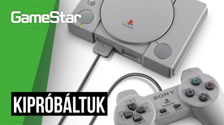 PlayStation Classic - kipróbáltuk az új retro konzolt bevezetőkép