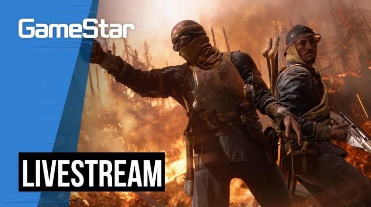 Battlefield V Livestream - fegyvert a kézbe! bevezetőkép
