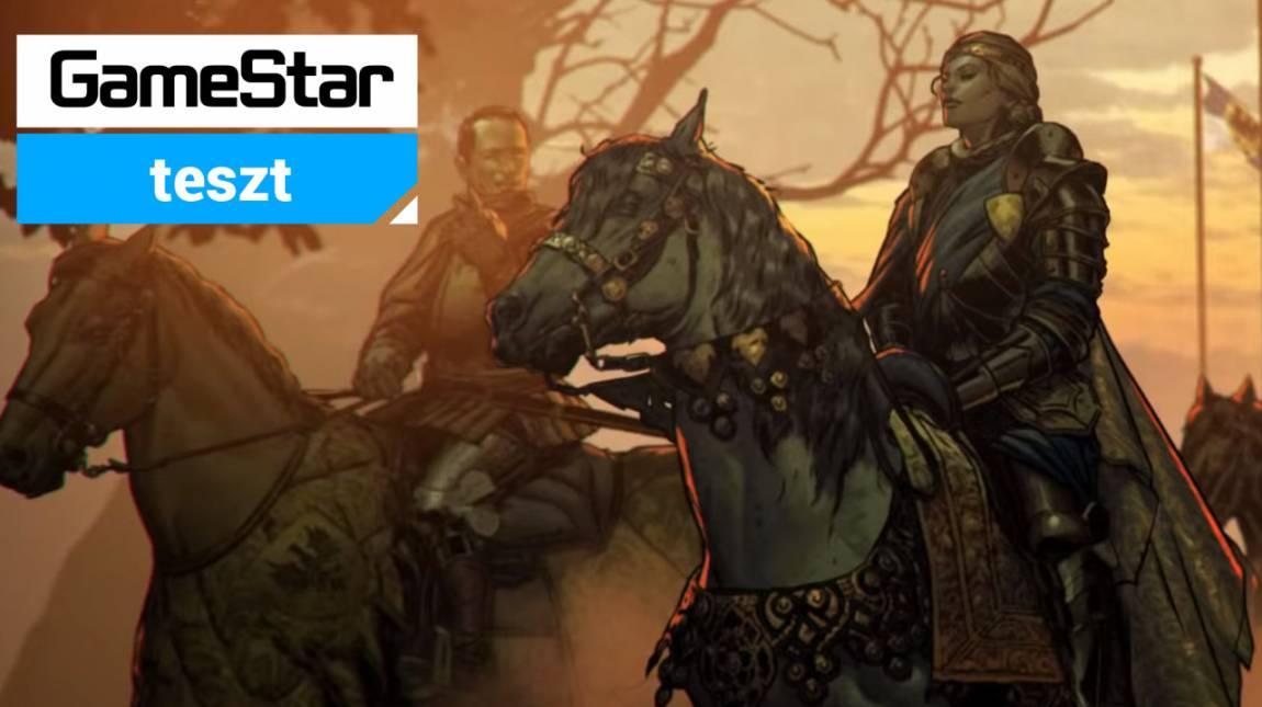 Thronebreaker: The Witcher Tales teszt - egy jó Gwent esetleg? bevezetőkép