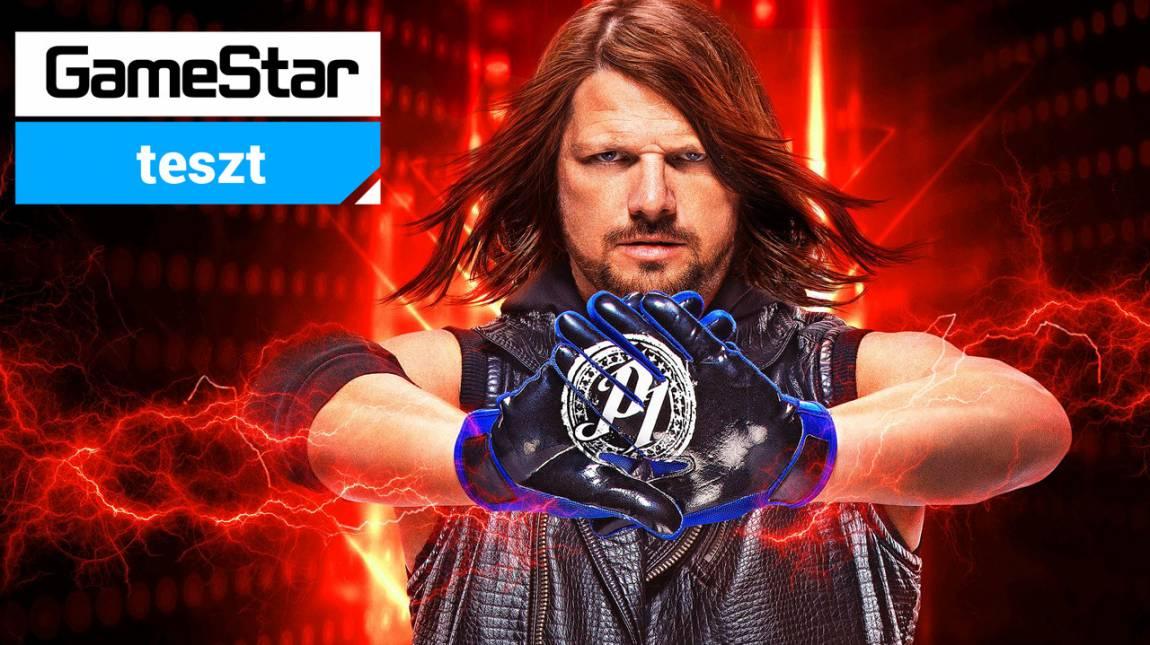 WWE 2K19 teszt - te is lehetsz szupersztár bevezetőkép