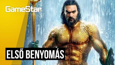 Aquaman első benyomások - ilyen lett a DC legújabb filmje