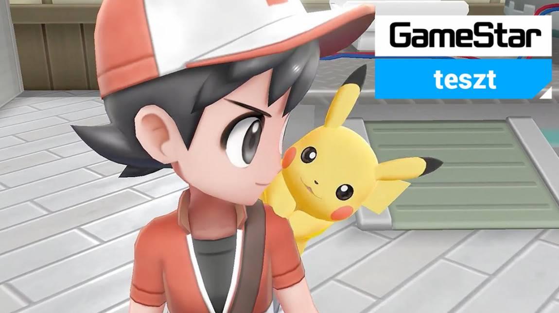 Pokémon: Let's Go, Pikachu/Eevee! teszt - csak te és én, mi győzünk a legvégén bevezetőkép