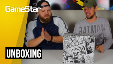 A szupergonoszok a legmenőbbek - Loot Crate Marvel Gear + Goods Unboxing