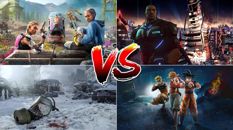 Szavazz: szerinted melyik, pénteken megjelenő játékból fogy majd a legtöbb? bevezetőkép
