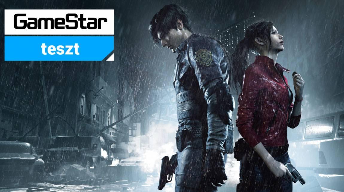 Resident Evil 2 teszt - egy kezdő zsaru rémálma bevezetőkép