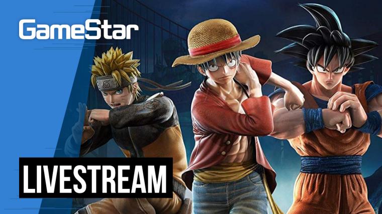 Son Goku vs Naruto - Jump Force Livestream bevezetőkép