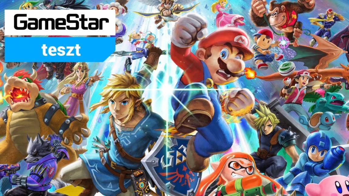 Super Smash Bros. Ultimate teszt - kiütéses győzelem bevezetőkép