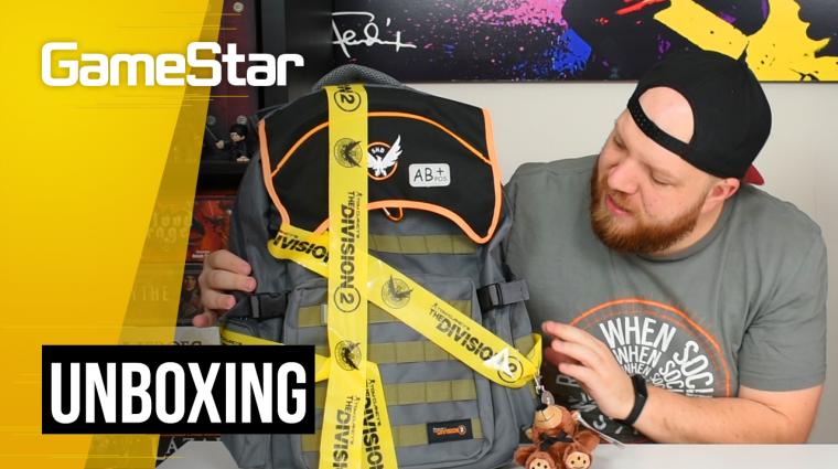 Tom Clancy's The Division 2 hátizsák unboxing - mit rejt egy ügynök táskája? bevezetőkép