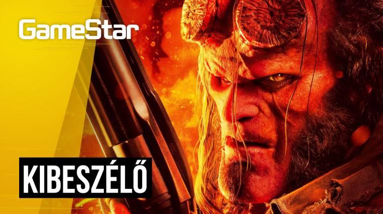 Agyatlan film rengeteg agyvelővel - Hellboy kibeszélő bevezetőkép