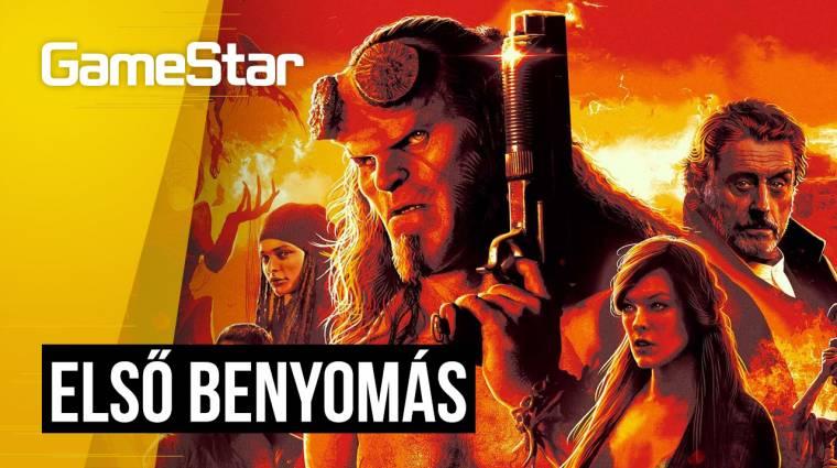 Hellboy első benyomás - látványos, csak épp semmitmondó bevezetőkép