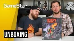 Hellboy társasjáték unboxing - jobb, mint az új film? kép