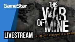A háború sötét oldala - This War of Mine Livestream kép