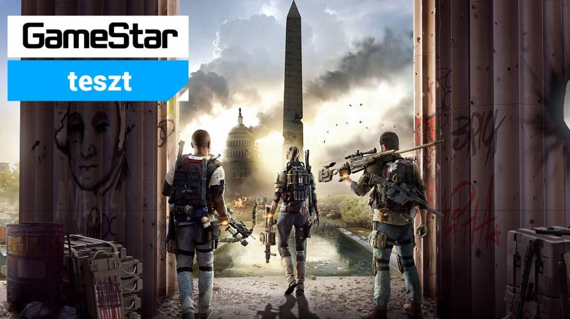 Tom Clancy's The Division 2 teszt - a Fehér Házban bunker kiadó bevezetőkép