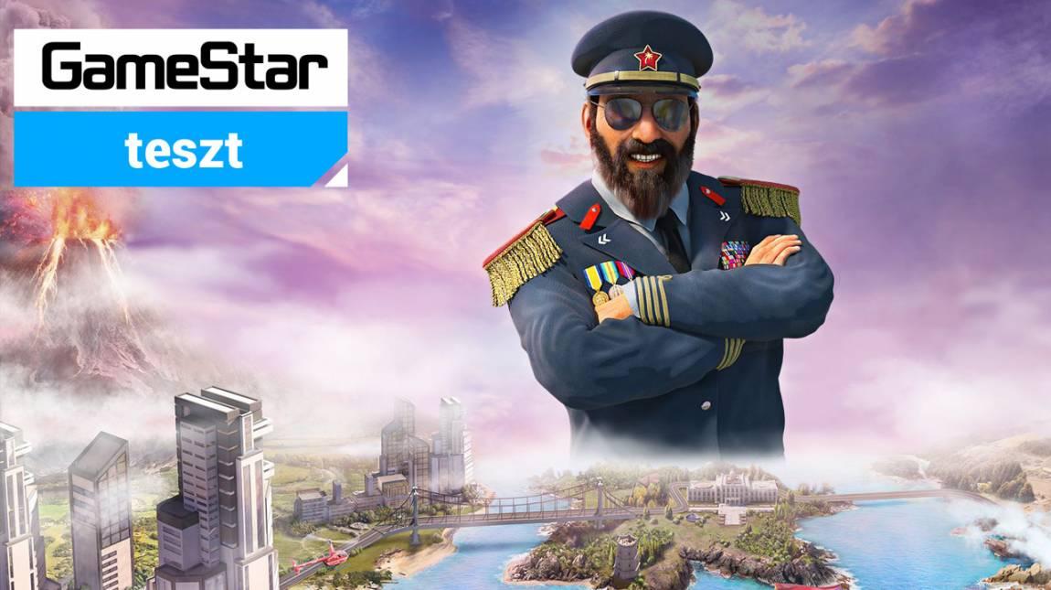 Tropico 6 teszt - a svájci bankszámla mindenekelőtt bevezetőkép