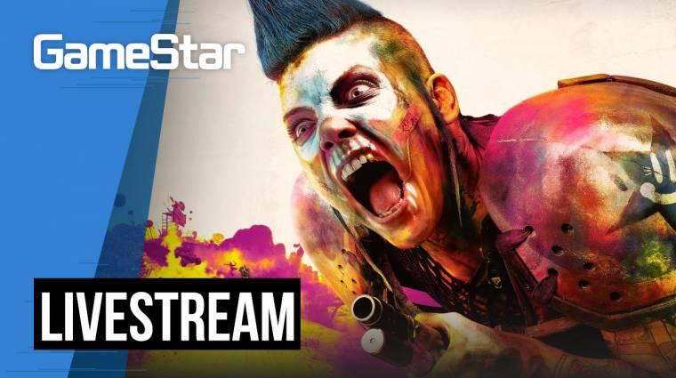 Rage 2 Livestream - világvége rózsaszínben bevezetőkép