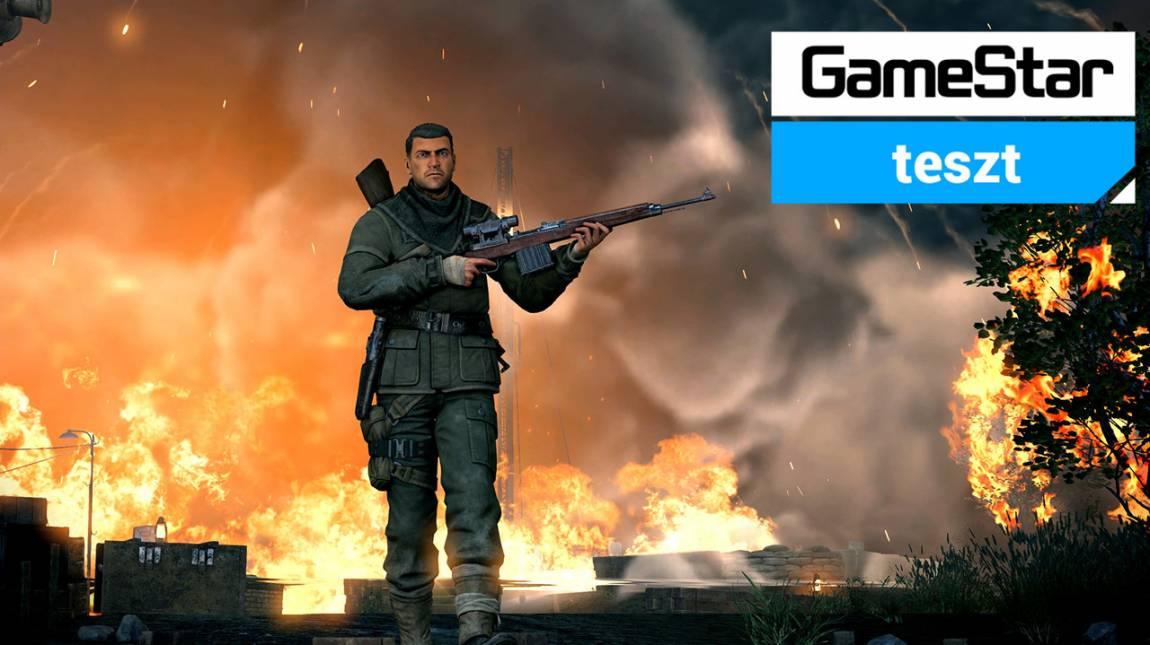 Sniper Elite V2 Remastered teszt - Berlin elesett bevezetőkép