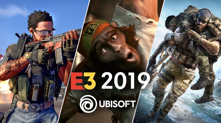 E3 2019 - mit várhatunk a Ubisofttól? bevezetőkép