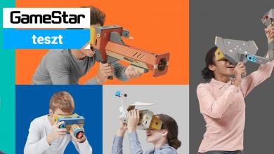 Nintendo Labo Toy-Con 04: VR Kit teszt – már megint ezt hajtogatjuk