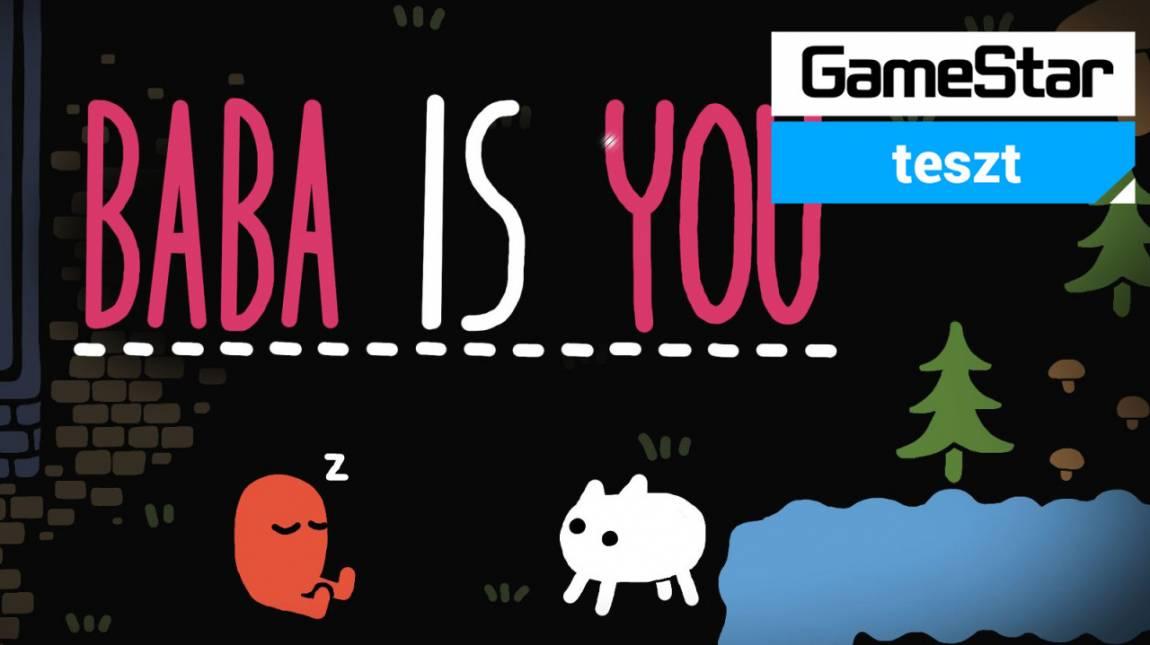Baba is You teszt - a nyúlon és prekoncepciókon túl bevezetőkép