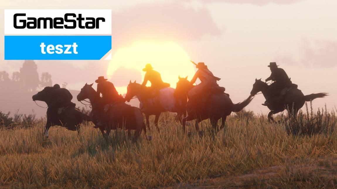 Red Dead Online teszt - a vadnyugat a lehetőségek földje bevezetőkép