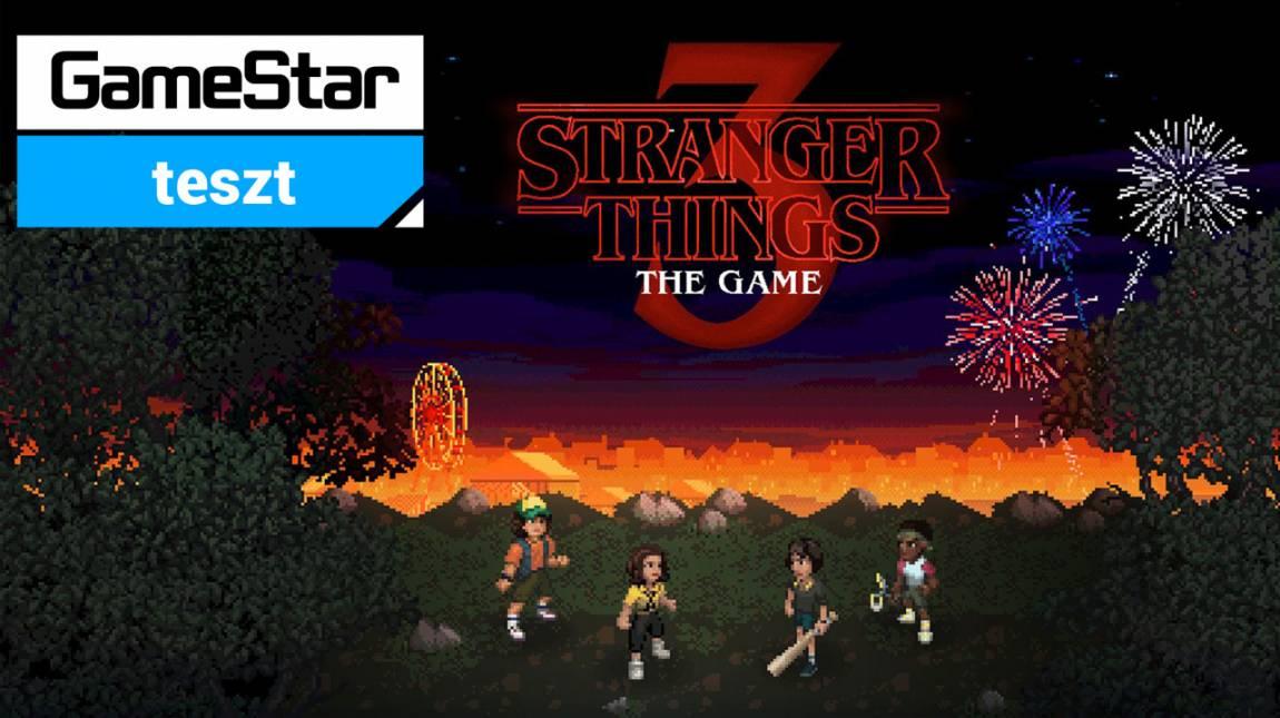 Stranger Things 3: The Game teszt - tótágast állunk tőle bevezetőkép