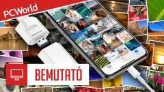 PhotoCube bemutató - Töltés és fotómentés egyszerre kép