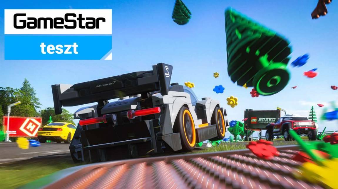Forza Horizon 4 LEGO Speed Champions teszt - minden közi-középszerű bevezetőkép