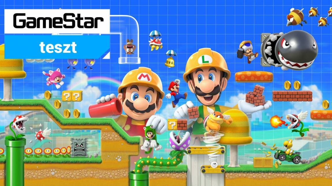 Super Mario Maker 2 teszt - és lőn Mario! bevezetőkép