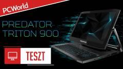 Acer Predator Triton 900 teszt - kifordítom, befordítom kép