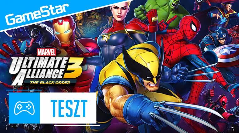 Marvel Ultimate Alliance 3: The Black Order videoteszt - Bosszúállók, gyülekező! bevezetőkép