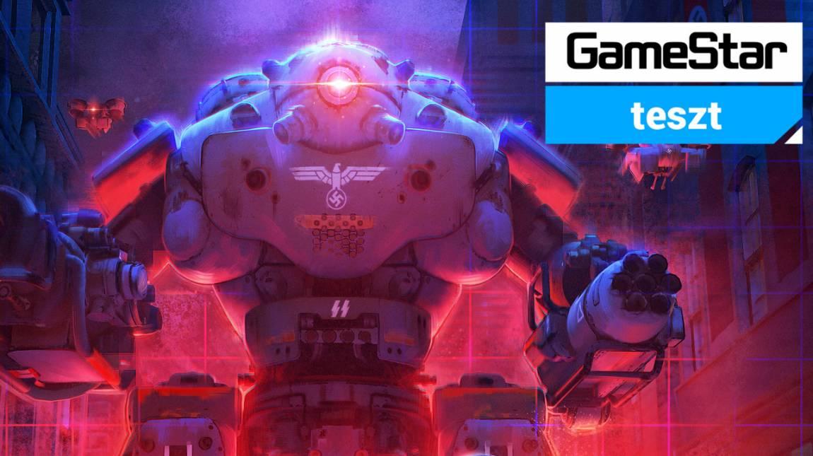 Wolfenstein: Cyberpilot teszt - Mein Herz brennt bevezetőkép