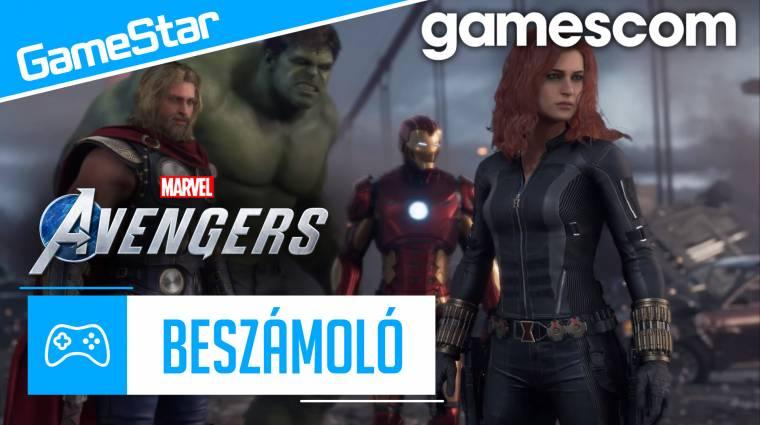 Gamescom beszámoló - felérhet a Marvel's Avengers a Spider-Manhez? bevezetőkép
