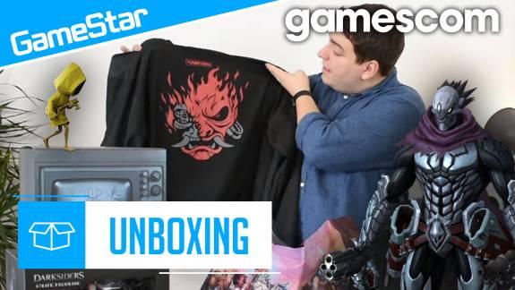 Gamescom lootmutató - nincs olyan, hogy túl sok póló kép