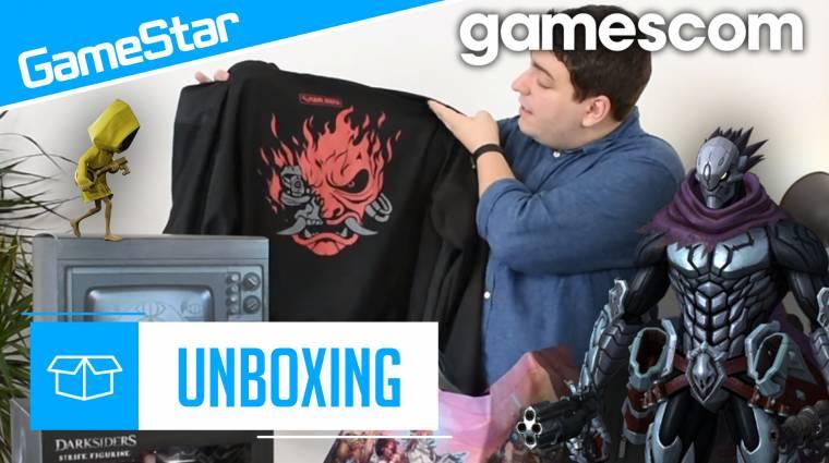 Gamescom lootmutató - nincs olyan, hogy túl sok póló bevezetőkép